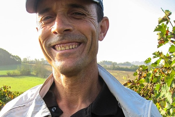 Hamid on of our team that looks after the vines all year round - Cantina Goccia guy at heart!